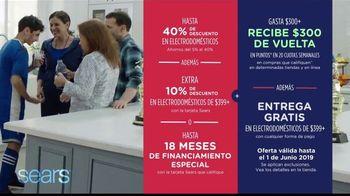 Sears Memorial Day Event TV Spot, 'Aproveche grandes ofertas en electrodomésticos' [Spanish] - Thumbnail 7