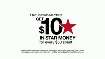 Macy's Star Money Days TV Spot, 'No Merchandise Exclusions' - Thumbnail 4