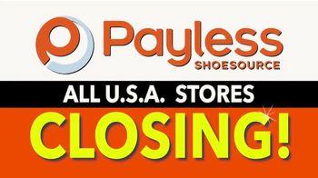 Payless Shoe Source Closing Sale TV Spot, 'Final Days: 75 Percent Off' - Thumbnail 2