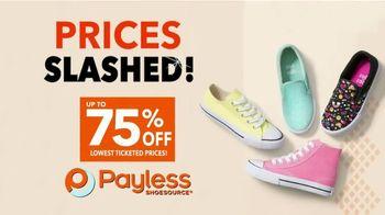 Payless Shoe Source Closing Sale TV Spot, 'Final Days: 75 Percent Off' - Thumbnail 3