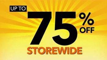 Payless Shoe Source Closing Sale TV Spot, 'Final Days: 75 Percent Off' - Thumbnail 4