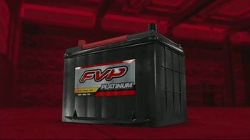 FVP Platinum Batteries TV Spot, 'Built to Start'