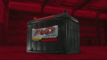 FVP Platinum Batteries TV Spot, 'Built to Start'