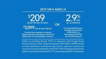2019 Honda HR-V LX TV Spot, 'City Living & Outdoor Adventure' [T2] - Thumbnail 7