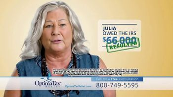 Optima Tax Relief TV Spot, 'Julia's Story of Finding IRS Debt Relief' - Thumbnail 4