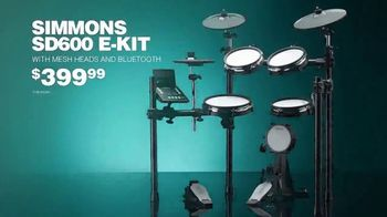 Guitar Center TV Spot, 'Memorial Day Weekend: Ludwig Kit and Simmons Kit' - Thumbnail 5