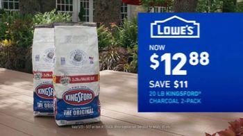 Lowe's TV Spot, 'Summer Savings: Bonnie Vegetables and Herbs Plus Kingsford Charcoal' - Thumbnail 6
