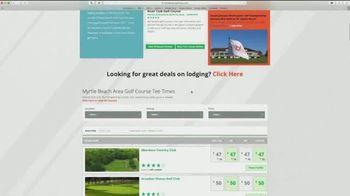 Myrtle Beach Golf Trips TV Spot, 'Keep In Touch' - Thumbnail 2