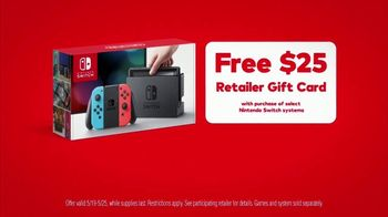 Nintendo Switch TV Spot, 'My Way: Retailer Gift Card' Song by Bosley - Thumbnail 7