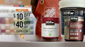 BEHR Paint Memorial Day Savings TV Spot, 'A Job Well Done' - Thumbnail 8