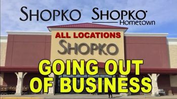 Shopko TV Spot, 'Going Out of Business' - Thumbnail 1