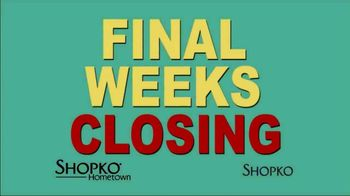 Shopko TV Spot, 'Going Out of Business' - Thumbnail 2