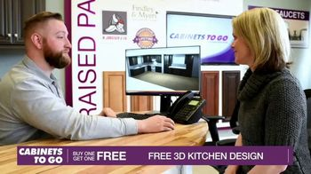 Cabinets To Go TV Spot, 'Dream Kitchen: Shaker Cabinets' - Thumbnail 9
