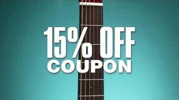 Guitar Center TV Spot, 'Memorial Day Weekend: Zero Percent Financing' - Thumbnail 4