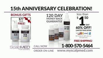 ScalpMED for Women 15th Anniversary Celebration TV Spot, 'Stimulate New Hair Growth' - Thumbnail 8