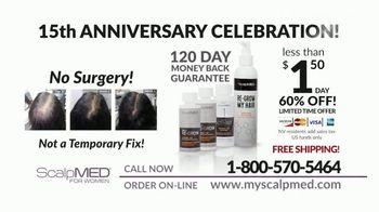 ScalpMED for Women 15th Anniversary Celebration TV Spot, 'Stimulate New Hair Growth' - Thumbnail 7
