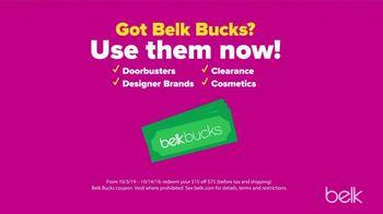 Belk Friends & Family Sale TV Spot, 'Use Your Belk Bucks' - Thumbnail 5