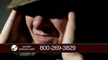 Military Earplugs Alert TV Spot, 'Hearing Loss' - Thumbnail 1