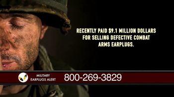 Military Earplugs Alert TV Spot, 'Hearing Loss' - Thumbnail 3