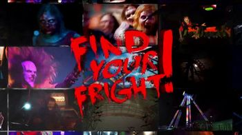 Six Flags Fright Fest TV Spot, 'Scream Never Die'