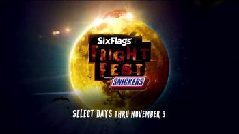 Six Flags Fright Fest TV Spot, 'Scream Never Die' - Thumbnail 7