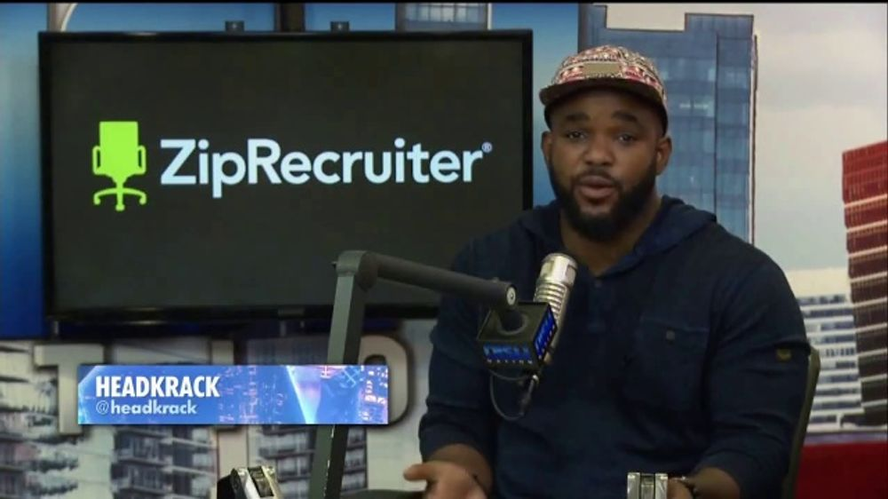 ZipRecruiter TV Commercial, 'Dish Nation: Experience' Featuring Headkrack