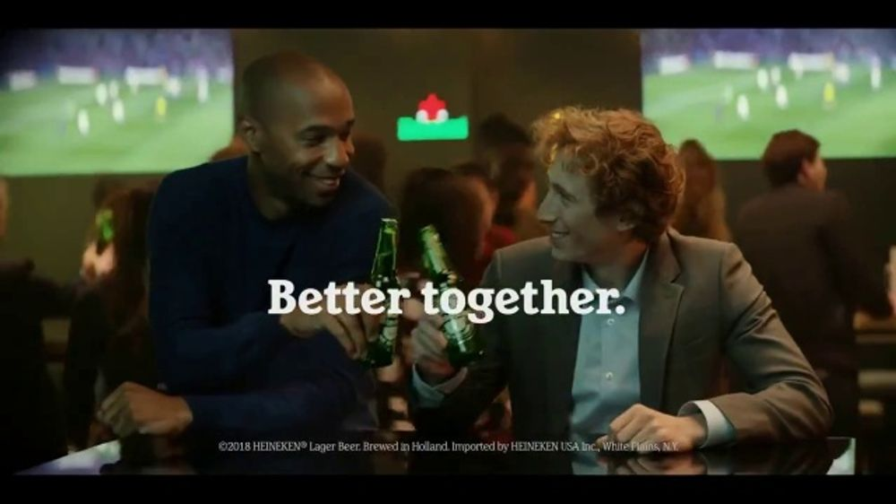 Heineken TV Commercial, 'UEFA Champions League: Better Together' Song by Eric Carmen