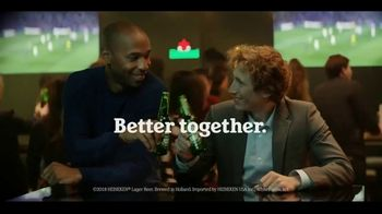 Heineken TV Spot, 'UEFA Champions League: Better Together' Song by Eric Carmen