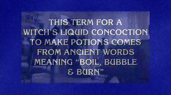 GEICO TV Spot, 'Jeopardy!: Witch's Brew'