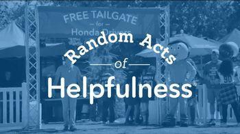 Honda TV Spot, 'Random Act of Helpfulness: Tailgate' [T2] - Thumbnail 2