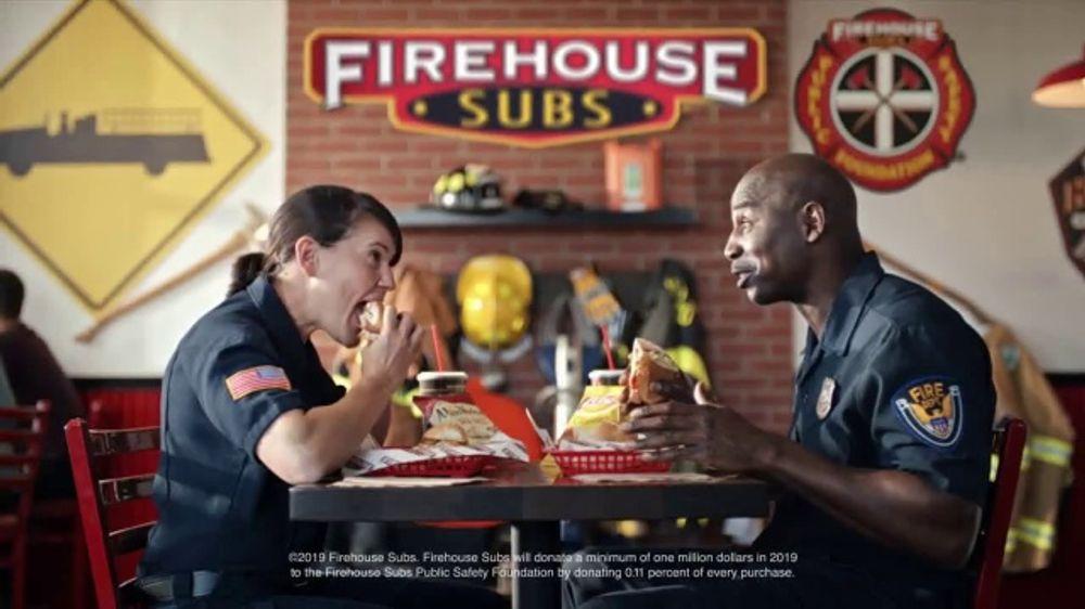 Firehouse Subs Nashville Hot Brisket TV Commercial, 'Equipment for First Responders'