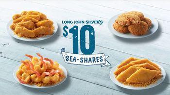 Long John Silver's $10 Sea-Shares TV Spot, 'Get Enough for Your Crew' - Thumbnail 1