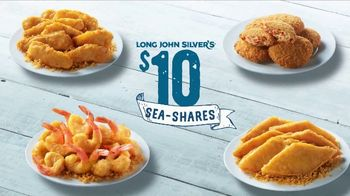 Long John Silver's $10 Sea-Shares TV Spot, 'Get Enough for Your Crew'