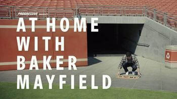 Progressive TV Spot, 'Baker Mayfield Cleans House'