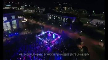 Middle Tennessee State University TV Spot, 'Higher' Song by Pinkzebra - Thumbnail 1