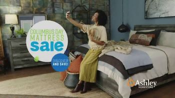 Ashley HomeStore Columbus Day Mattress Sale TV Spot, 'Take Home a Chime' Song by Midnight Riot - Thumbnail 2