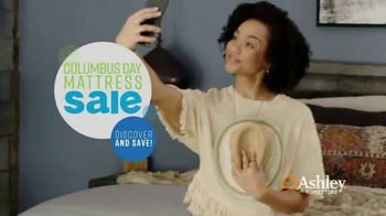 Ashley HomeStore Columbus Day Mattress Sale TV Spot, 'Take Home a Chime' Song by Midnight Riot - Thumbnail 3