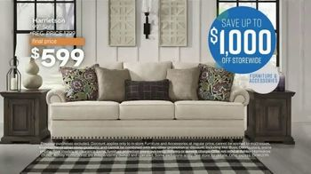 Ashley HomeStore Columbus Day Sale TV Spot, 'Storewide' Song by Midnight Riot - Thumbnail 3