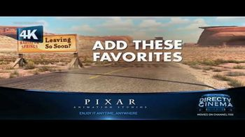 DIRECTV Cinema TV Spot, 'Pixar Studios' - Thumbnail 2