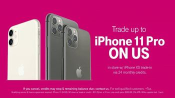 T-Mobile TV Spot, 'Signal: iPhone 11 Pro: Up to 50 Percent Off' Song by Aerosmith - Thumbnail 6