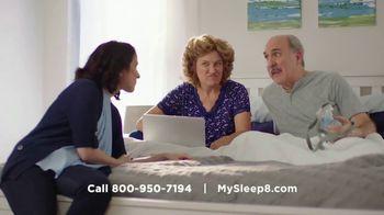 Sleep 8 TV Spot, 'Wake Up' - Thumbnail 7