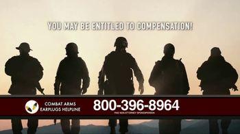 Combat Arms Earplugs Legal Helpline TV Spot, 'Veterans and Active Duty Military' - Thumbnail 2