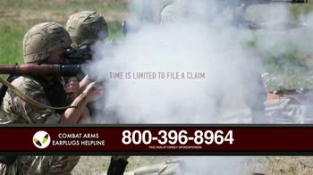 Combat Arms Earplugs Legal Helpline TV Spot, 'Veterans and Active Duty Military' - Thumbnail 6