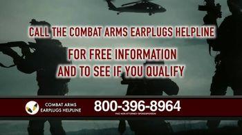 Combat Arms Earplugs Legal Helpline TV Spot, 'Veterans and Active Duty Military' - Thumbnail 8