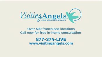 Visiting Angels TV Spot, 'I Wear Many Hats: In-Home Consultation' - Thumbnail 9