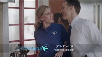 Visiting Angels TV Spot, 'I Wear Many Hats: In-Home Consultation' - Thumbnail 3
