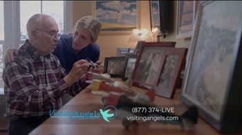 Visiting Angels TV Spot, 'I Wear Many Hats: In-Home Consultation' - Thumbnail 6