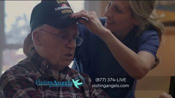 Visiting Angels TV Spot, 'I Wear Many Hats: In-Home Consultation'