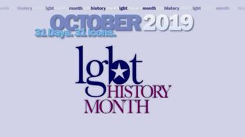 Equality Forum LGBT History Month TV Spot, 'Icons' - Thumbnail 1