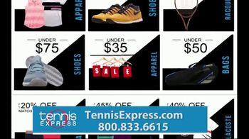 Tennis Express Black October Sale TV Spot, '31 Days' - Thumbnail 3
